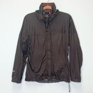 Marmot Precip Eco Rain Jacket in Brown **FLAWED**